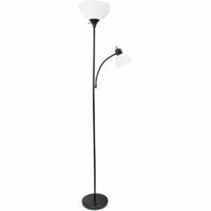 The Black Friday Furniture Option: Simple Designs Floor Lamp with Reading Light