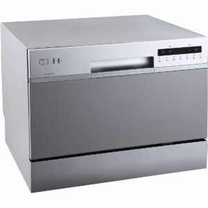 The Dishwasher Black Friday Option: EdgeStar DWP62SV Portable Countertop Dishwasher