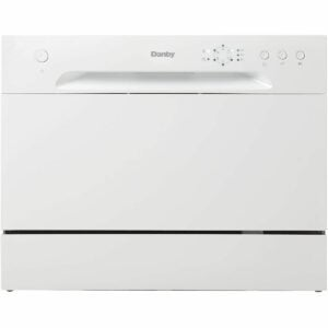 The Dishwasher Black Friday Option: Danby DDW621WDB Countertop Dishwasher, White