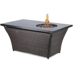 The Lowes Black Friday Option: Blue Rhino 48-in W 50000-BTU Steel Fire Table
