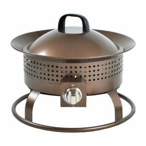 The Lowes Black Friday Option: Bond Signature Bronze Portable Steel Fire Pit