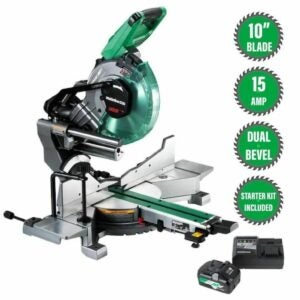 The Lowes Black Friday Option: Metabo/Hitachi Dual Bevel Sliding Compound Miter Saw
