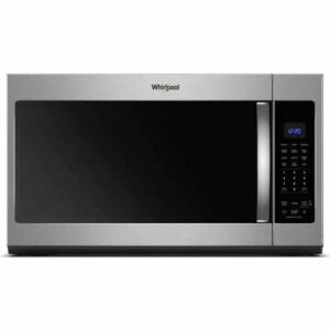The Lowes Black Friday Option: Whirlpool 1.9-cu ft Over-the-Range Microwave with Sensor Cooking