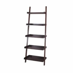 The Lowes Black Friday Option: allen + roth Java Wood 5-Shelf Ladder Bookcase