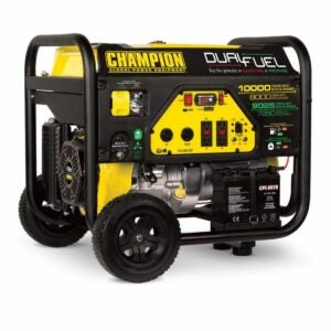 The Home Depot Black Friday Option: Champion 10,000/8,000-Watt Dual Fuel Portable Generator