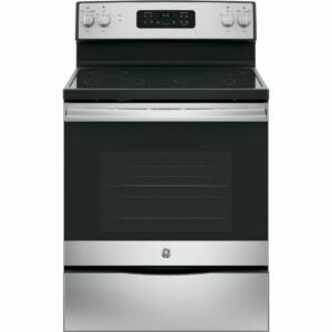 The Home Depot Black Friday Option: GE Electric Range with Self-Cleaning Oven