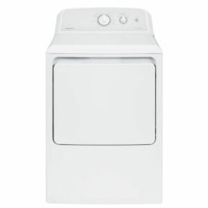 The Washer and Dryer Black Friday Option: Hotpoint 240-Volt White Electric Vented Dryer