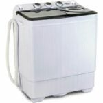 The Washer and Dryer Black Friday Option: KUPPET Compact Twin Tub Portable Mini Washing Machine