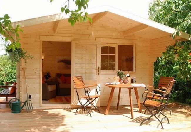 BZB Cabins Escape Allwood Small Cabin Kits
