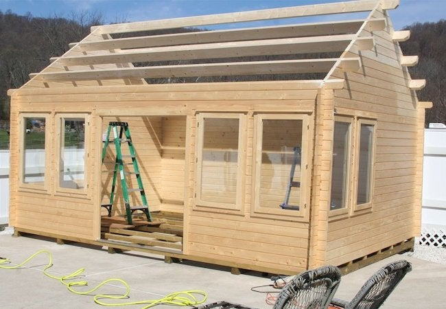 BZB Cabins Lakeview Small Cabin Kit