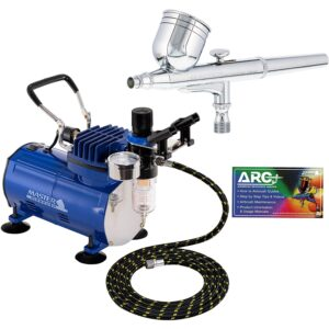 The Best Airbrush Option: Master Airbrush Gravity Feed Dual-Action Airbrush Kit