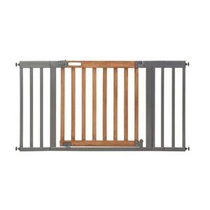 最好的宝贝门选项:夏季西端安全婴儿门,蜂蜜橡木