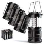 The Best Camping Gadgets Option: Vont 4 Pack LED Camping Lantern, LED Lantern