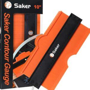 The Best Contour Gauge Option: Saker Contour Gauge (10 Inch Lock) Profile Tool
