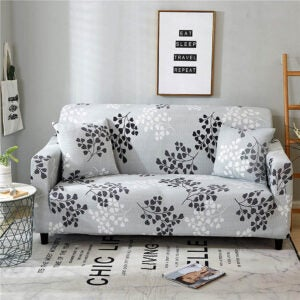 The Best Couch Covers Option: Lamberia Printed Sofa Cover