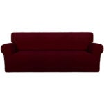 The Best Couch Covers Option: PureFit Super Stretch Chair Sofa Slipcover