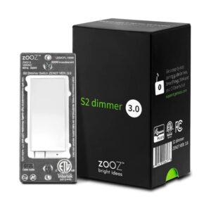 最佳调光开关:Zooz Z-Wave Plus S2墙调光开关