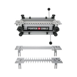 The Best Dovetail Jig Option: PORTER-CABLE Dovetail Jig with Mini Template Kit