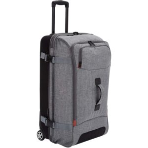 The Best Duffel Bag Option: AmazonBasics Wheeled Travel Duffel