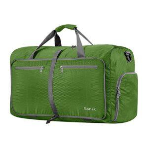 The Best Duffel Bag Option: Gonex 60L Packable Travel Duffle Bag