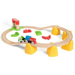 The Best Electric Train Set Option: Brio My First Railway Battery Operated Train Set