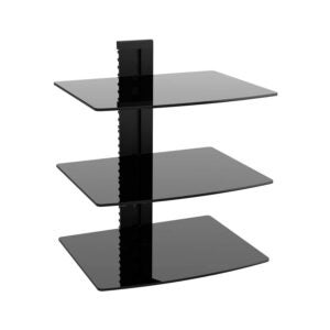 The Best Entertainment Center Option: WALI Floating Wall Mounted Shelf