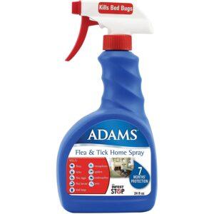 最好的跳蚤喷雾选项:亚当斯跳蚤和蜱主页喷雾