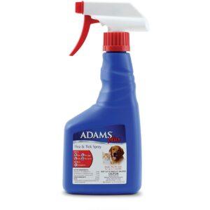 最好的跳蚤喷雾选项:亚当斯加跳蚤和蜱虫喷雾