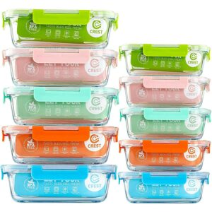 Best Glass Food Storage Containers 10Pack