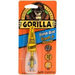 The Best Glue For Ceramic Option: Gorilla Super Glue with Brush_Nozzle Applicator