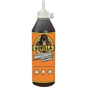 The Best Glue For Ceramic Option: Gorilla Waterproof Polyurethane Glue