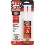 The Best Glue For Ceramic Option: J-B Weld ClearWeld 5 Minute Set Epoxy