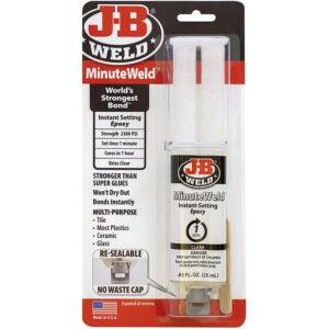 The Best Glue For Ceramic Option: J-B Weld MinuteWeld Instant-Setting Epoxy