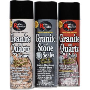 The Best Granite Sealer Option: Rock Doctor Granite & Quartz Care Kit