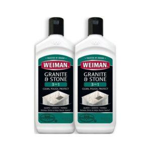 The Best Granite Sealer Option: Weiman Granite Cleaner and Polish