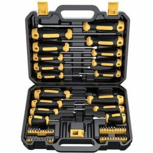 The Best Hand Tools Option: CREMAX Magnetic Screwdriver Set 57 PCS