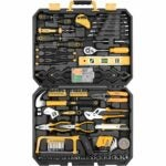 The Best Hand Tools Option: DEKOPRO 168 Piece Mixed Hand Tool Kit with Case