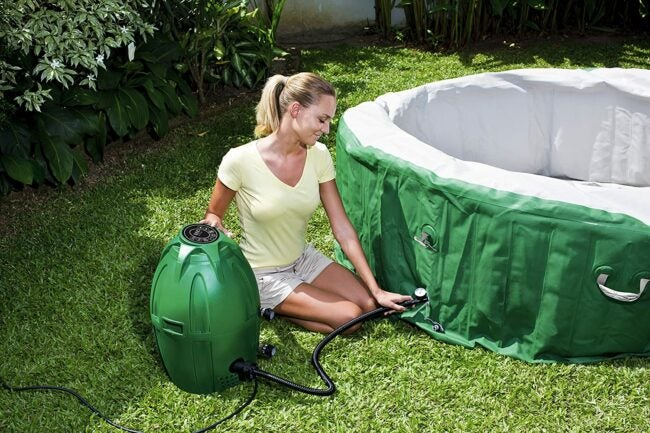 The Best Inflatable Hot Tub Option
