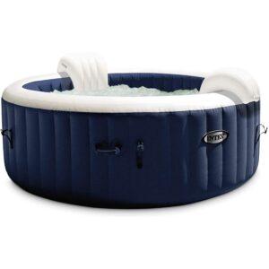 The Best Inflatable Hot Tub Option: Intex 28429E PureSpa Plus 4 Person Hot Tub