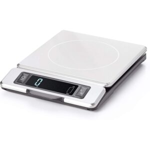 The Best Kitchen Scale Option: OXO 11214800 Good Grips Stainless Steel Food Scale