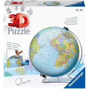 The Best Puzzles Option: Ravensburger The Earth 540 Piece 3D Jigsaw Puzzle
