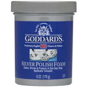 The Best Silver Polish Option: Goddards Silver Polisher Foam with Sponge Applicator