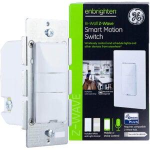 最好的智能光开关选项:GE enbrigren Z-Wave加上智能运动灯开关