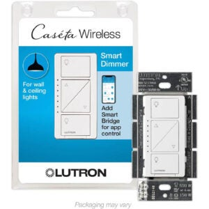 The Best Smart Light Switch Option: Lutron Caseta Smart Home Dimmer Switch