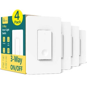 The Best Smart Light Switch Option: Treatlife 3 Way Smart Switch 4 Pack