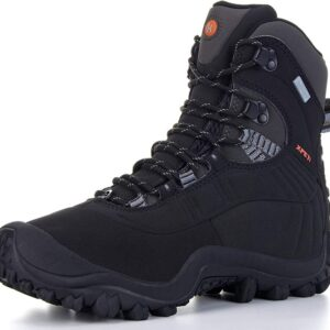 The Best Snow Boots Option: XPETI Men's Thermator Waterproof Hiking Boots