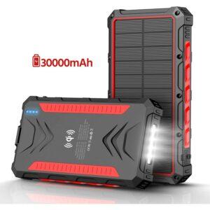 Best Solar Power Bank 30000
