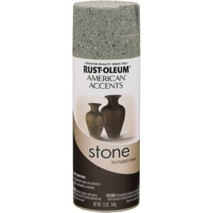 The Best Spray Paint Option: Rust-Oleum Stone Creations Spray