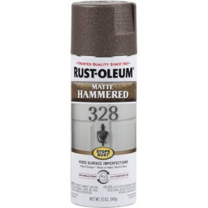 The Best Spray Paint Option: Rust-Oleum Stops Rust Hammered Finish Spray Paint