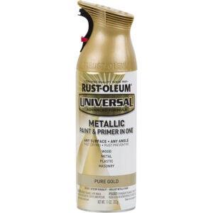 The Best Spray Paint Option: Rust-Oleum Universal All Surface Spray Paint Metallic